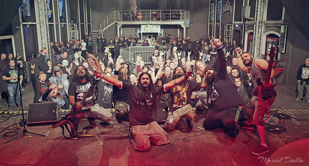 SystemHouse33 Xmas In Hell European Tour 2015 – Magdeburg, Germany