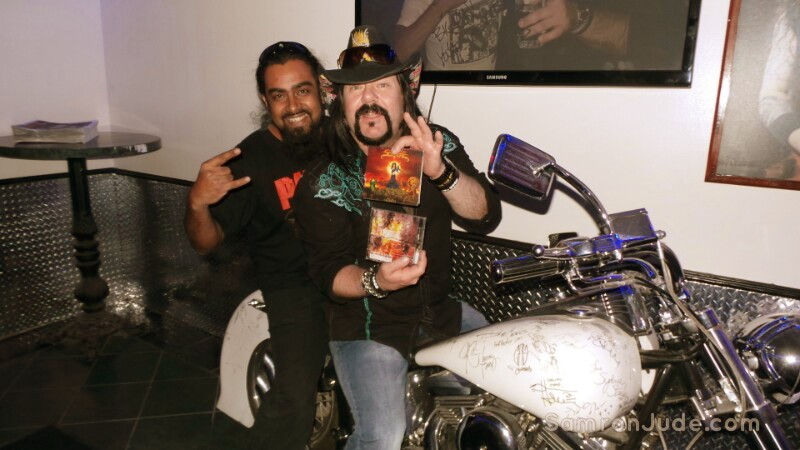 Samron Jude meets Vinnie Paul from Pantera