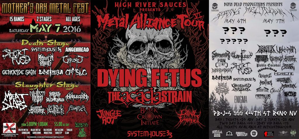 SystemHouse33 to tour USA with Dying Fetus